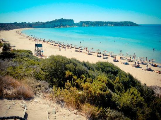Foto de Gerakas Bay, Zakynthos: il mare di Gerakas Beach ...