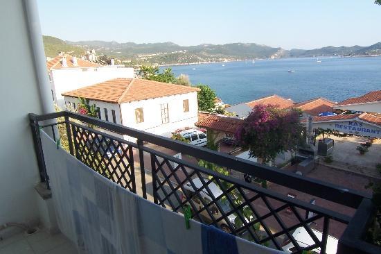 Sardunya Otel: vue mer