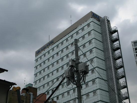 APA Villa Hotel Akasakamitsuke: 外観