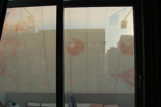 Bucharest Comfort Suites: la vue...