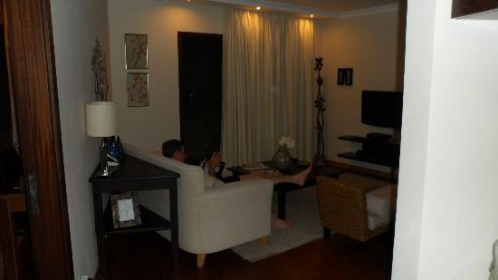 Sandima 37 Hotel Bodrum: Living area of suite