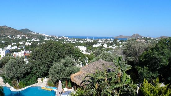 Sandima 37 Hotel Bodrum: View from executive suite terrace