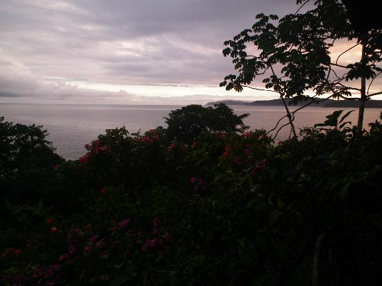 La Paloma Lodge: amanecer desde la habiacion!
