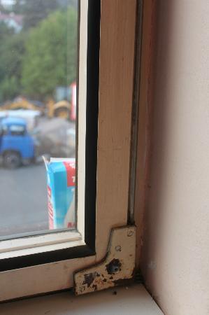 Hotel Slanka Cernosice: window frame