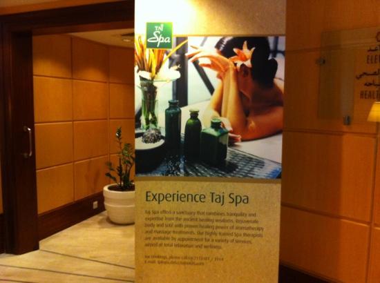 Jood Palace Hotel Dubai: taj spa♡