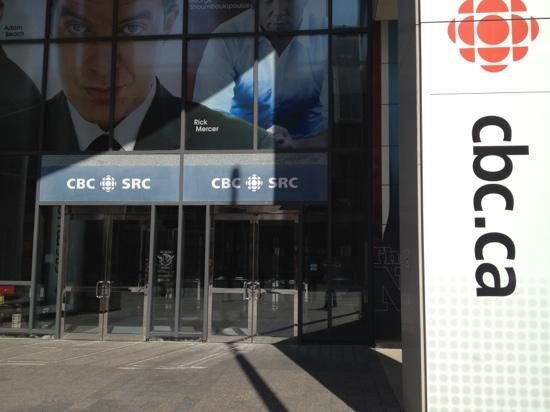 Canadian Broadcasting Centre: Front