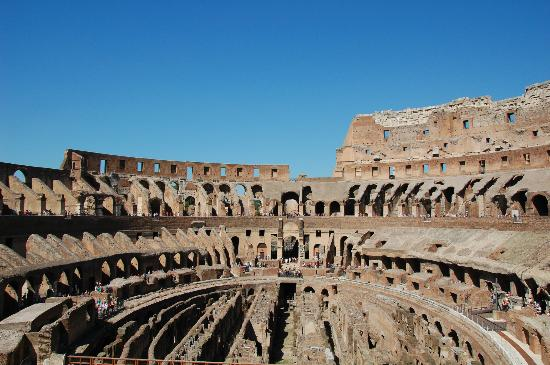 Share a Shore Excursion in Italy: The Coliseum, interior view