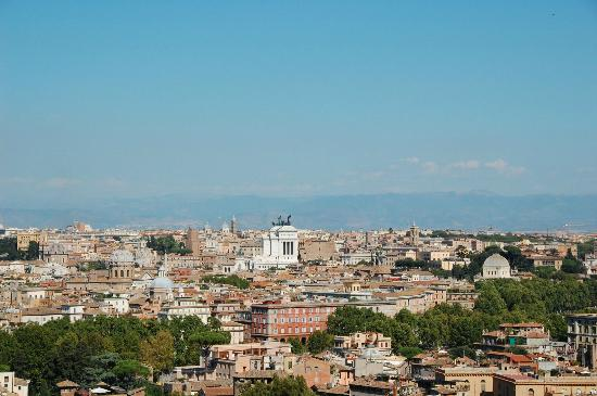 Share a Shore Excursion in Italy: One view from the hill of Gianicolo