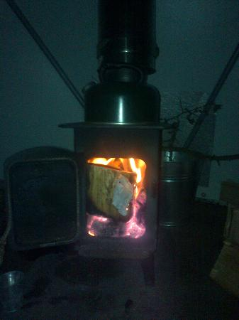 Away From It All: Log burners soon heat domes!!!