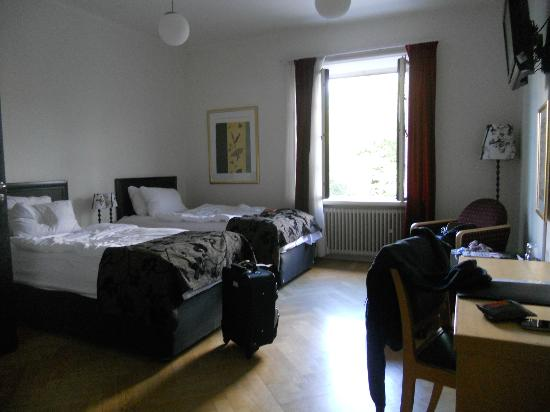 First Hotel Norrtull : Twin room
