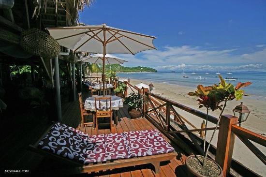 Aviavy Hotel: La terrasse