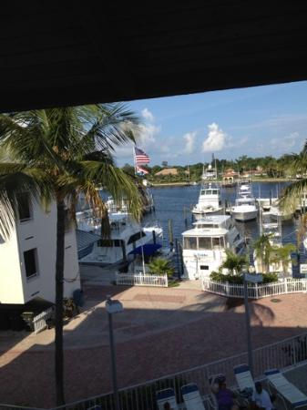 Pirate's Cove Resort and Marina : view from our room