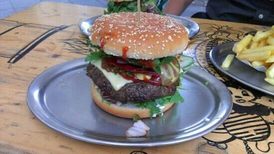 BBI - Berlin Burger International: Cheeseburger