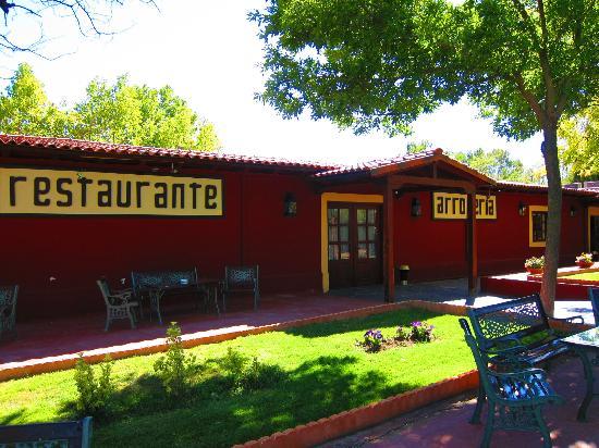 La hacienda: Zona exterior