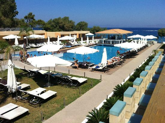 Villa Di Mare Luxury Suites: Vista dalla camera