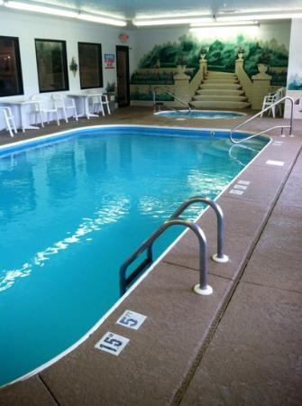 Comfort Inn: pool and spa