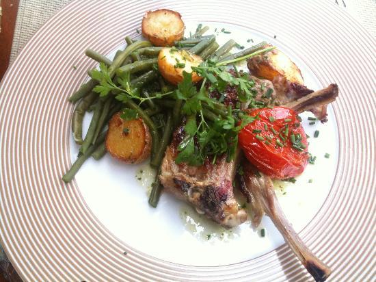 Bistrot Le Cap : Plat du jour viande (lamb)