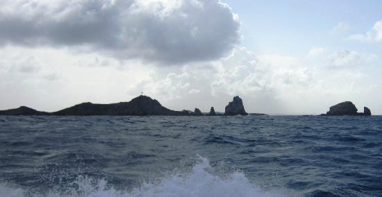 Pointe des Chateaux: The Pointe from the water