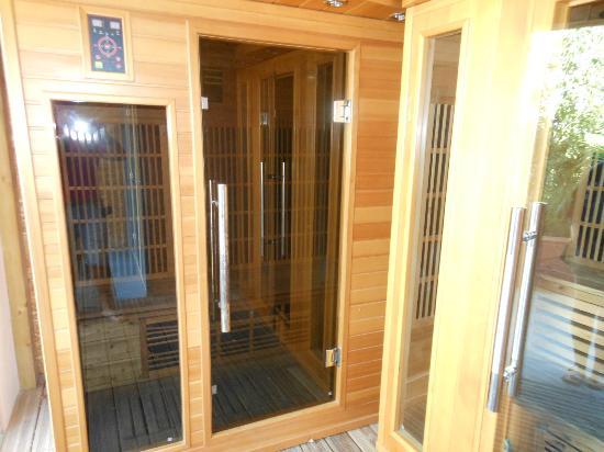 Camping le Front de Mer: sauna 4 places...HYGIENE AFFREUSE