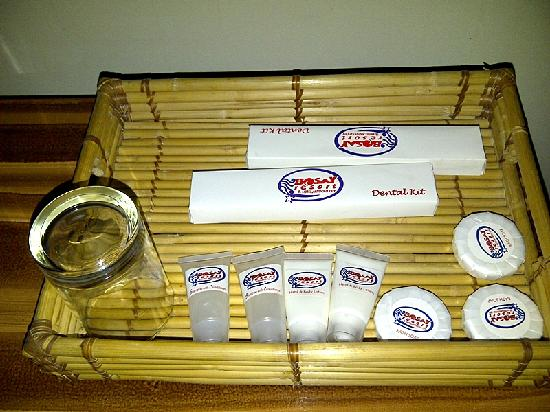 Bosay Resort: condiments