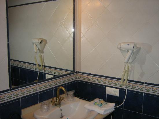 Sierra de Araceli: cuarto de baño
