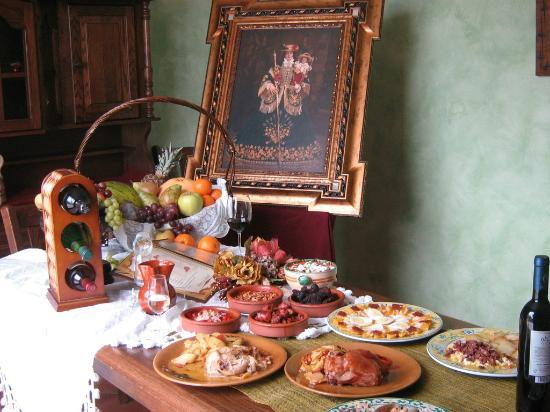 Sierra de Araceli: algunos de nuestros platos caseros