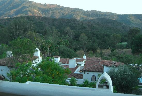 Ojai Valley Inn & Spa: View from my terrace