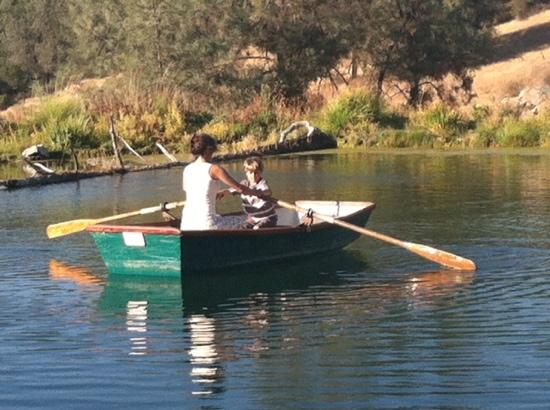 Eden Vale Inn: Rowing Lesson