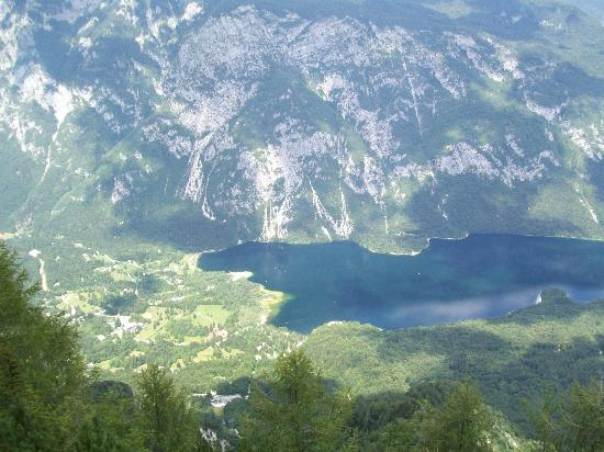 Vogel Ski Center: Bohinj Lake from the top