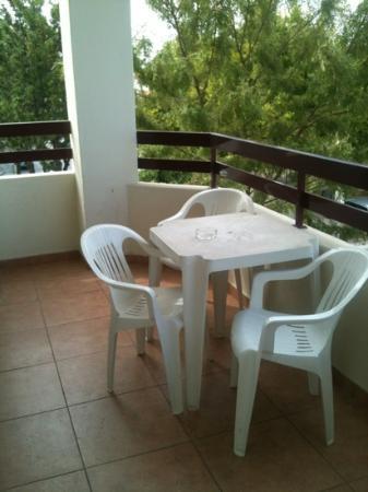 Hotel Alba: terraza
