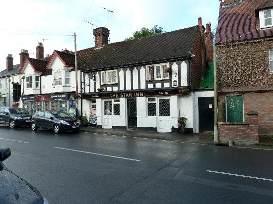 The Star Inn: View from across the road