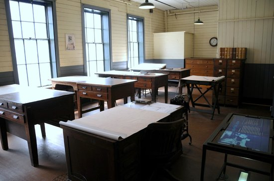 Thomas Edison National Historical Park: drafting room