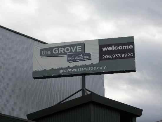 The Grove, West Seattle Inn: just a sign:)