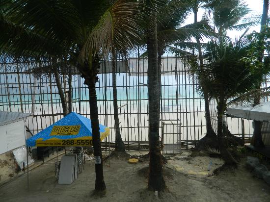 White Beach de Boracay: Shot from the Veranda