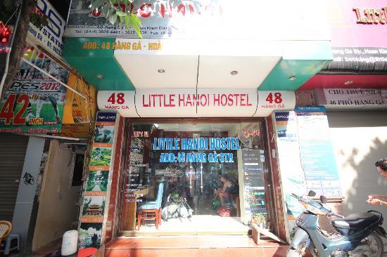 Little Hanoi Hostel : Entrance