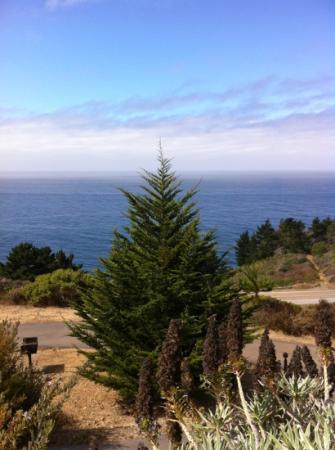 Treebones Resort: Wonderful view!