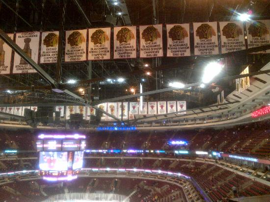 Inside The Madhouse Picture Of United Center Chicago