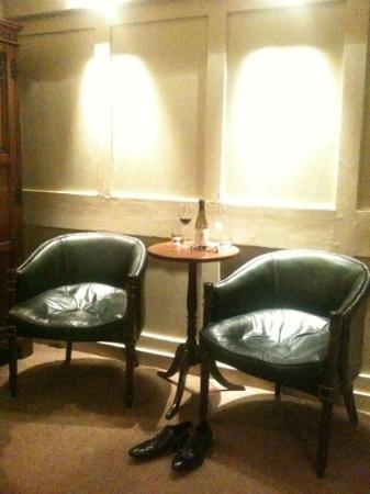 The Rookery Hotel: Armchairs in Charles Rowley (Superior Double, second floor)