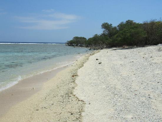 The Trawangan Resort: Playa del hotel