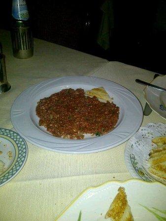 Le Bistrot d'Alain : El clasico steak tartare