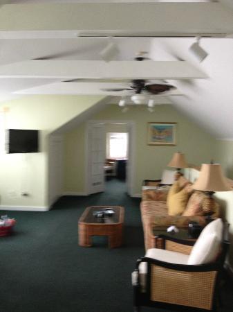 The Banyan Resort: suite. bedroom is through other door