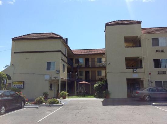 Lambert Inn: Voorzijde hotel