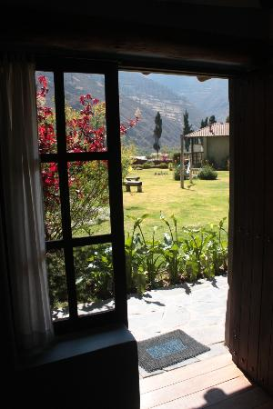 The Green House Peru : View from Our Room