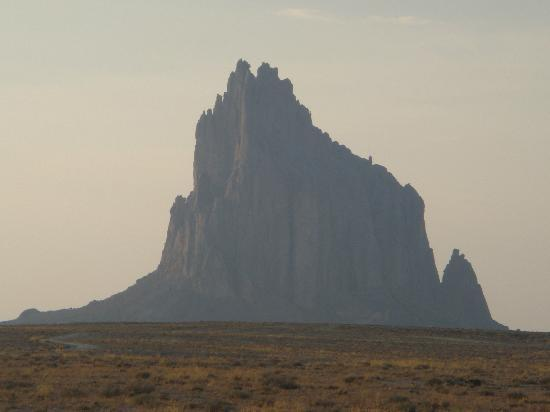 Shiprock from off the BIA-13