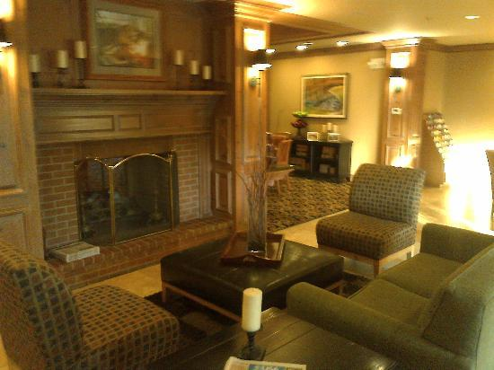 Homewood Suites by Hilton Indianapolis-Keystone Crossing: Inside Main Lobby Area