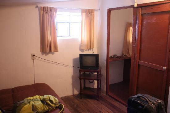 Hostal Buena Vista - Cusco: View from Door of Overflow Room #15