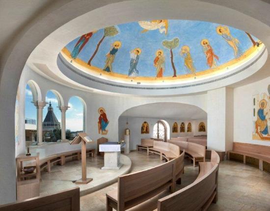 Chapelle du centre international marie de nazareth for Vol interieur israel