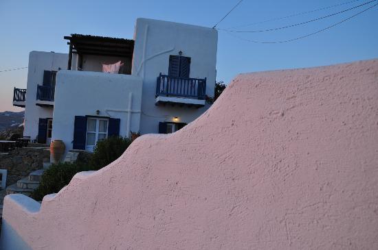 Villa Konstantin: El hotel desde la terraza