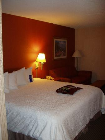 Hampton Inn by Hilton Harrisburg West: Bedroom