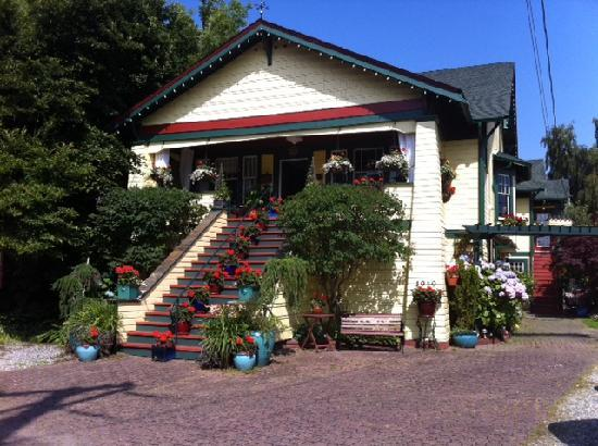 Clair's Bed & Breakfast: Look for the Big Yellow House